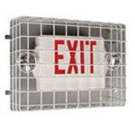 STI Exit Sign / Emergency Lighting Wire Guards