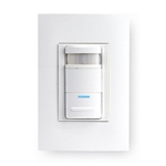 Leviton Acenti ACP10-LW PIR S-P Acenti Wall Switch Occupancy Sensor - Alabaster