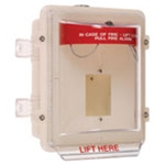 STI-1200A Stopper® II with 4 inch deep enclosed backbox