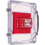 STI-1221E Strobe Damage Stopper® and Open Backbox for Flush Mount