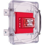 STI-1221B Strobe Damage Stopper® and Enclosed Backbox with Double-Gang Outlet Box
