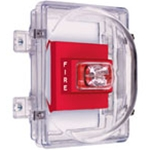 STI-1221C Strobe Damage Stopper® and Open Backbox with External Mounting Tabs