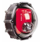 STI-1229-HAZ Stopper® Dome for Strobe Only with Enclosed Backbox - NEMA 4X Hazardous Locations