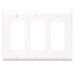 3-Gang Decora Trim Plate