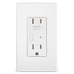 2472DWH OutletLinc Dimmer - Remote Control Outlet (Dual Band), White