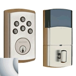8285264AC3 - SOHO Motorized Deadbolt w/Home Connect - Satin Chrome