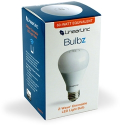 Linearlinc Lb60z 1 Z Wave Dimmable Led Light Bulb