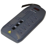 DTK-8FF 8-Outlet Plug-In Surge Protection
