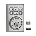 99100-012 - Contemporary Style Motorized Deadbolt - Satin Chrome