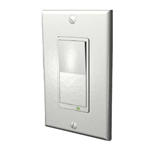 Evolve LSM-15 - Z-Wave 15A Wall Mounted Relay Switch - White