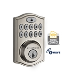9140-002 - 914 Motorized Deadbolt w/Home Connect - Satin Nickel