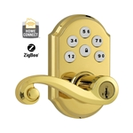 99120-008 - ZigBee Motorized Lever w/Home Connect - Satin Nickel