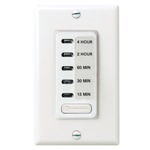 Intermatic EI215 Electronic In-Wall Countdown Timer - White